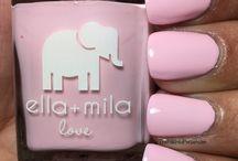 Pink Me Up lakier do paznokci ella+mila