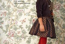 Девочки прически и одежда