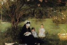 Berthe Morisot / 1841-1895 / The best female impressionst there was,love her paintings.