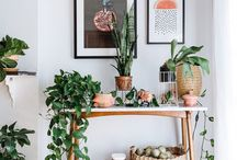 botanic living room bohemian
