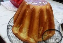 gâteau battu  au thermomix