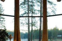 Architecture trær som hjørner