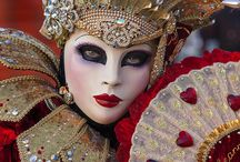 Carnivale in Red / The masks and costumes in Venice were beautiful...Carnivale would be an experience!