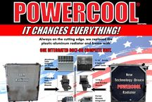 POWERCOOL® - Detroit Radiator Corporation / ONE INTEGRATED BOLT-ON COMPLETE UNIT THAT REPLACES THE OEM PLASTIC/ALUMINUM RADIATOR.    IT CHANGES EVERYTHING! So Revolutionary—it is PATENTED.