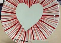 Valentine Pottery / Cool Valentine ideas you can make at our shop!