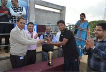 UTM Cricket Tournament 2015 / UTM organized a Cricket Tournament at the Umpling Ground, Shillong on April 24, 2015. The mouthwatering face off between Team CCVT/ECE (Semester VI) and Team P.E. (Semester II) was witnessed by every sporting enthusiast from the university.