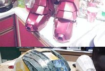 Ironman&WarMachine / Iroman and other armor suit builds