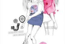 fashion illustration / by hanna