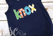 Boys Applique Outfits from Sunfire Creative / Adorable boys applique outfits from Sunfire Creative.  https://www.etsy.com/shop/sunfirecreative/items?section_id=13623998&ref=pagination
