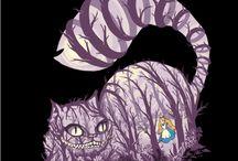 Alice in W: Chesire cat / Alice in wonderland Chesire cat (chessie, chessy)