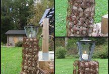 Askartelujani puutarhaan. / Tekemiäni askarteluja puutarhaan. Katso näiden tekemiseen ohjeet blogistani www.garden-of-my-dreams.blogspot.fi.