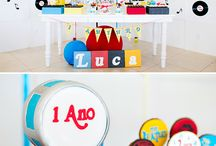 First birthday music theme