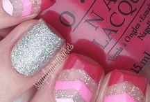 Nail Art Design Inspirations / A range of nail art designs, free hand and stamping.