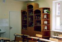 Мебель для детских садов и школьная мебель на заказ / Фотографии нестандартной школьной мебели, мебели для детских садов и других ДОУ, изготовленной нашей фабрикой на заказ по индивидуальным проектам.