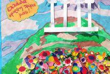 Νηπιαγωγείο - Παιδικό Εργαστήρι Τα Στρουμφάκια - Παιδικές Κατασκευές - Preschool Crafts / Kindergarten, preschool, and elementary school crafts.