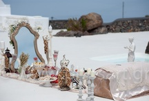 Iranian Wedding Ceremony in Santorini / a unique Iranian Wedding Event Ceremony in Santorini @ Aenaon Villas