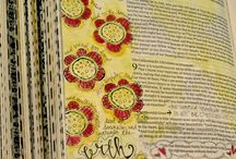 Bible Journaling / Ways to connect with God through art