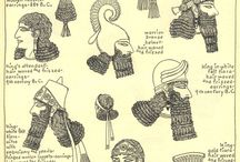Assyrian / Babylonian pins