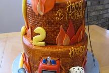 fireman cakes