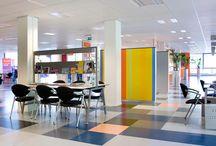 Kaučukové podlahy / Rubber floors