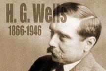 H.G. Wells / H.G Wells escribió más de 80 libros a sus 50 años de edad las producciones de este se dividirían en Novela Científica, La Familiar Y Sociológica la Novela Científica tuvo inicio con La Segunda Guerra Mundial y no tardo en convertirse muy popular este género.