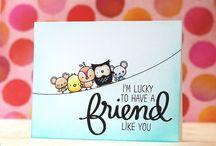 Милые animals cards
