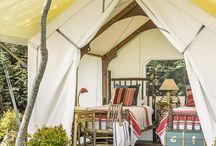 Tendas e barracas de campo