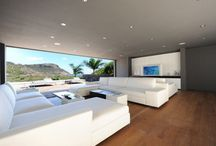 VILLA INTERIOR DESIGN / Villa interior design in St- Barth