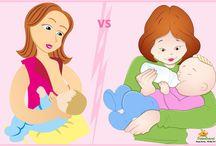 Women & Kids - Breastfeeding Vs Formula Milk