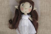 Art dolls by Trilli / Handmade dolls cite by a wonderfool tale world