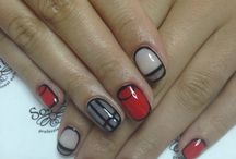 Valentine's nails by Somfis! / Red nails, Valentine's Day ,lovely nails for in love girls!!!