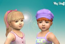 My The Sims 4 CC Hair (Toddlers)