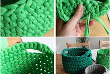 Knitting, Crochet & Stitch