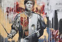 Art - Street Graffiti / Street and Graffiti Art