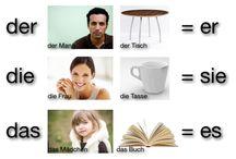 German Grammar / Learn basic German grammar in pictures - Lerne elementare deutsche Grammatik in Bildern