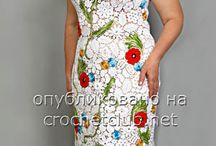 vestidos crochet lll / by clara martinez