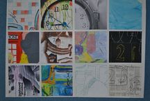 Year 9 Grid Painting Models / 2015, Year 9