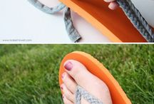 Decorate shoes and flip flops!!!