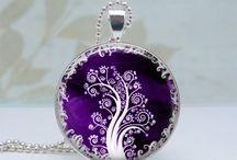 Glass pendants / Assorted