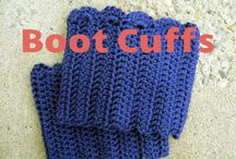 CROCHET-BOOT CUFFS,LEG WARMERS & SLIPPERS / by Susan Bertucci