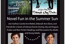 Novel Fun in the Summer Sun Book Tour / Stops on the yearly book tour
