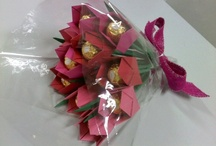Chocolate and candy Bouquets