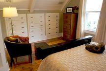 master bedroom remodeling in attic / by Julie Fredrick