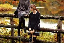 autumn fashion photography