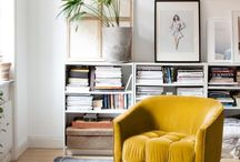 Yellow Decor / Yellow decor, add a pop of colour to a neutral room with yellow accessories, furniture or decor.