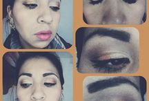 Mis looks / Algunos de mis maquillajes.