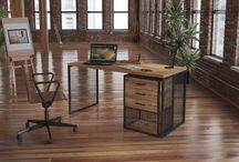 Çalışma Masaları - Endustriyel Mobilya