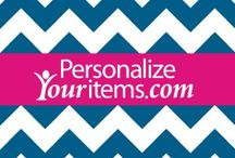 Personalize Your Items / Just random pics of Personalize Your Items