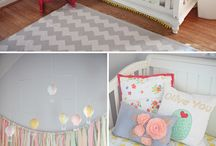 Nursery ideas for Ivy and Stella