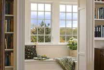 Reading/breakfast Nook/window seat